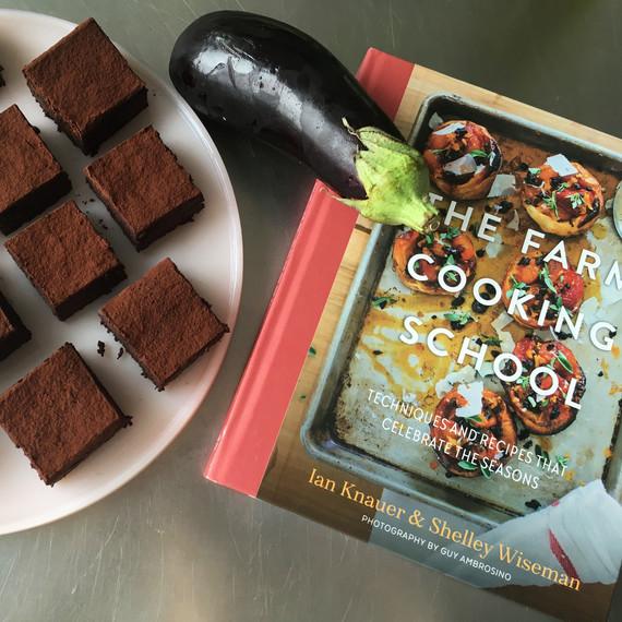 42 burners farm cooking school rhubarb cookbook brownies
