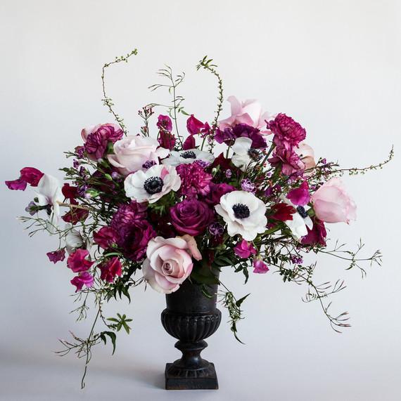 valentines day floral arrangement