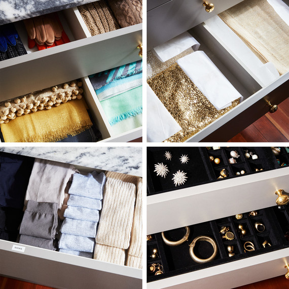 organized drawers martha closet