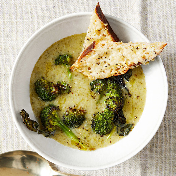 Potato Broccoli and Cheddar Soup