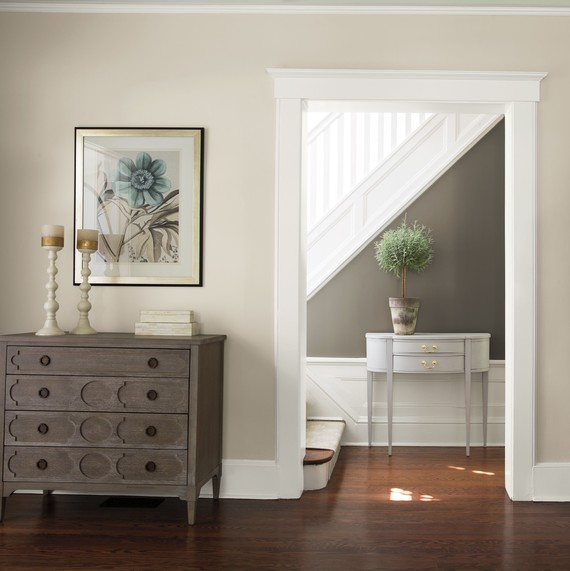 benjamin moore paint color combo white gray