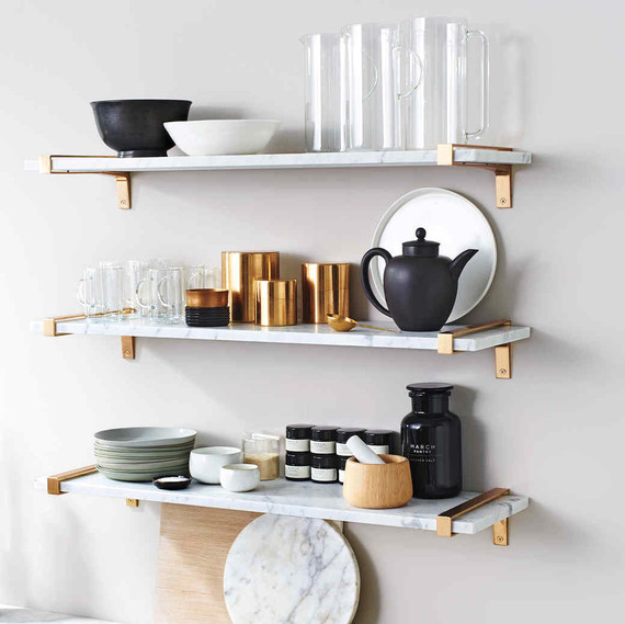 housekeeping solutions kitchenware shelving