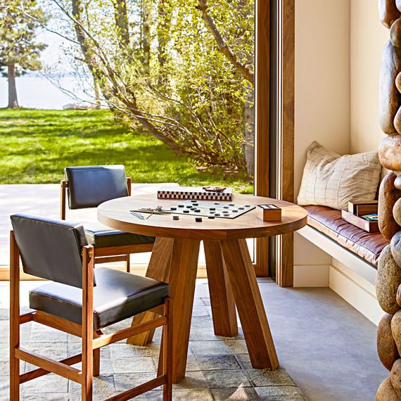 Lake Tahoe House Game Porch