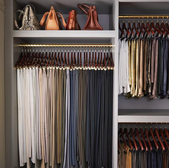 marthas organized closet