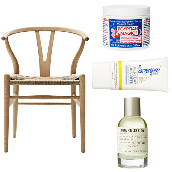 chair beauty products