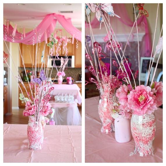 Pink Princess Decorations