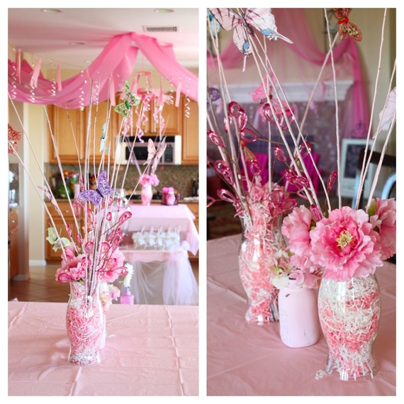 incredible Diy Princess Party Decoration Ideas Part - 3: Pink Princess Party Decorations