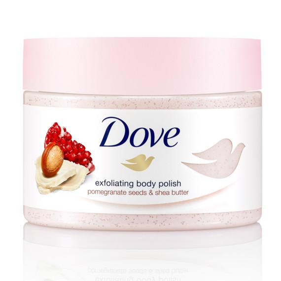 dove exfoliating body polish
