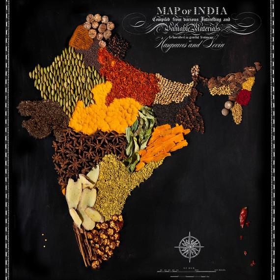 food map india