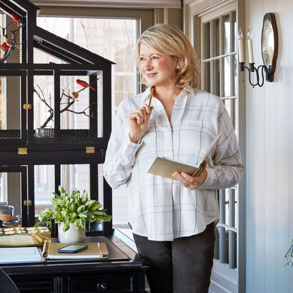 Go Inside Martha's Home Office Renovation | Martha Stewart