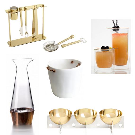 bar cart essentials products