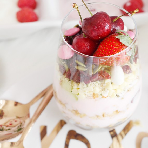 Host A Galentine S Day Parfait And Paint Party Martha Stewart