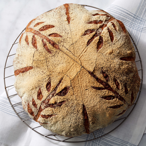 artisan boule bread martha bakes wire rack