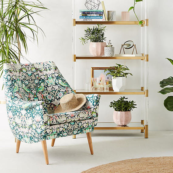 Merveilleux Liberty Of London Upholstered Chair. Photography By: Anthropologie