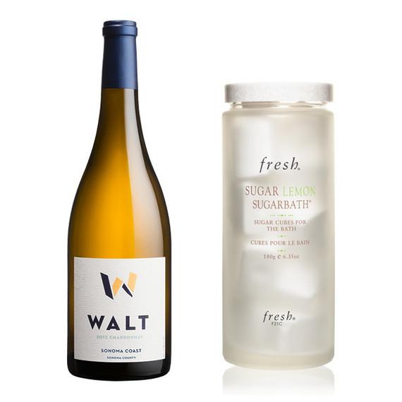 WALT Sonoma Coast Chardonnay Fresh Sugar Lemon Sugarbath