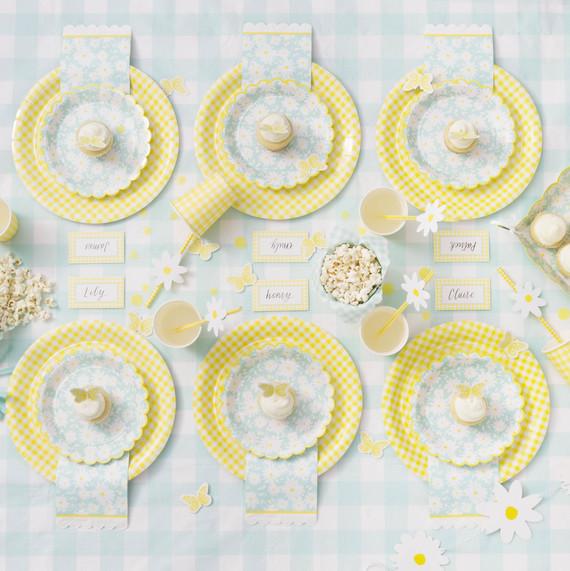 celebrations crafts lemon meyer party supplies table