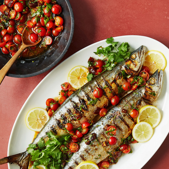 dates mackerel with date butter