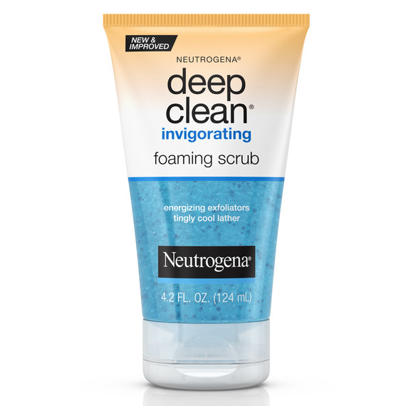 neutrogena face wash scrub