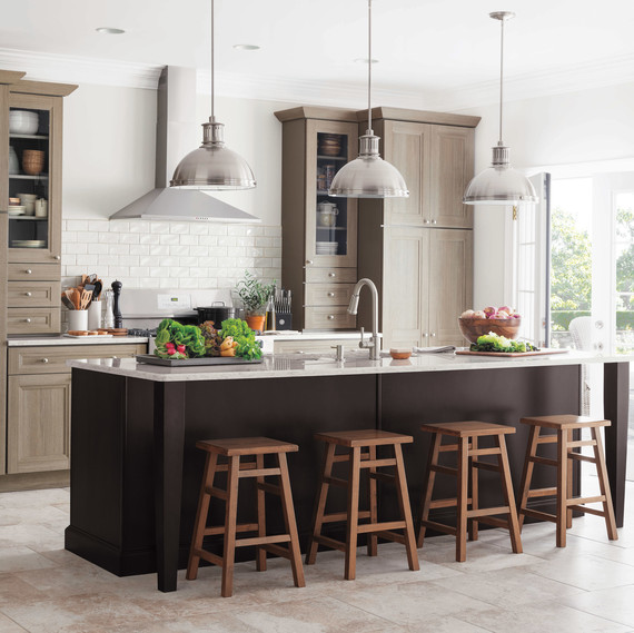 Choosing A Kitchen Island 13 Things You Need To Know Martha Stewart & Kitchen Island Countertop Shapes - Kitchen Ideas