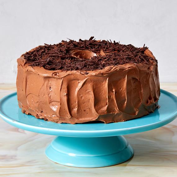 chocolate angel food cake martha bakes meringue