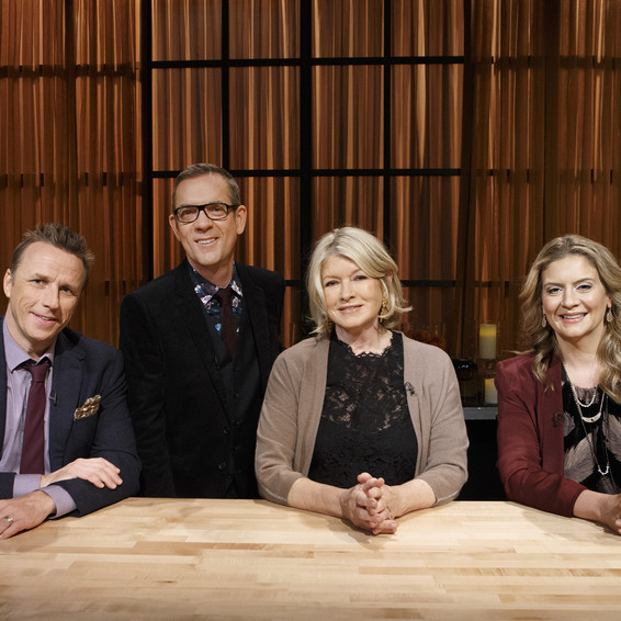 "Martha and ""Chopped"" judges"