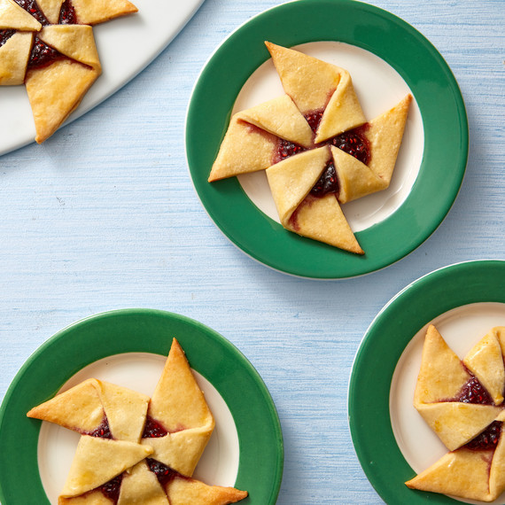 finnish cream cheese stars cookies