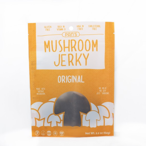 mushroom jerky