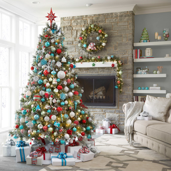 christmas tree in a small living room martha s countdown to the holidays martha stewart 27465