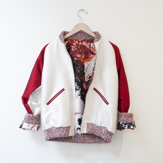 Nikki Chasin bomber jacket