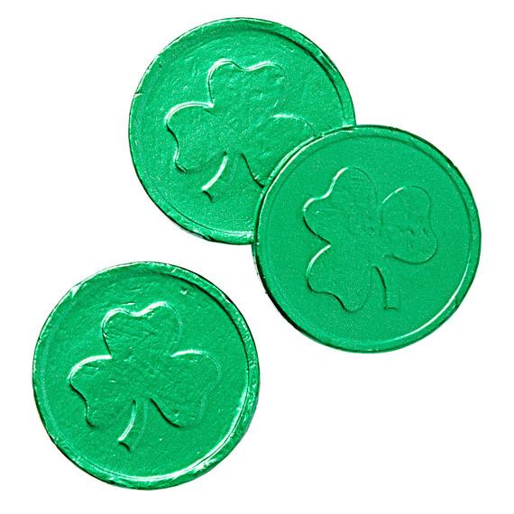 shamrock chocolate medallions