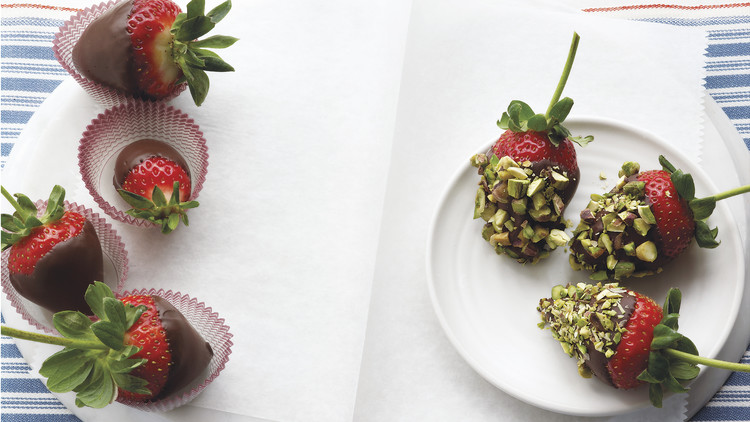 Chocolate Covered Strawberries Recipe Martha Stewart