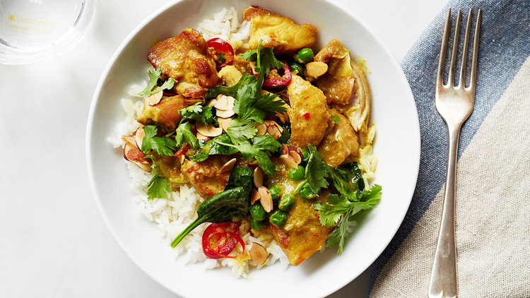 Quick chicken curry with spinach and peas forumfinder Gallery