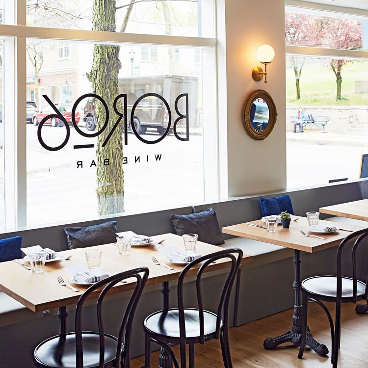 boro6 wine bar restaurant seating