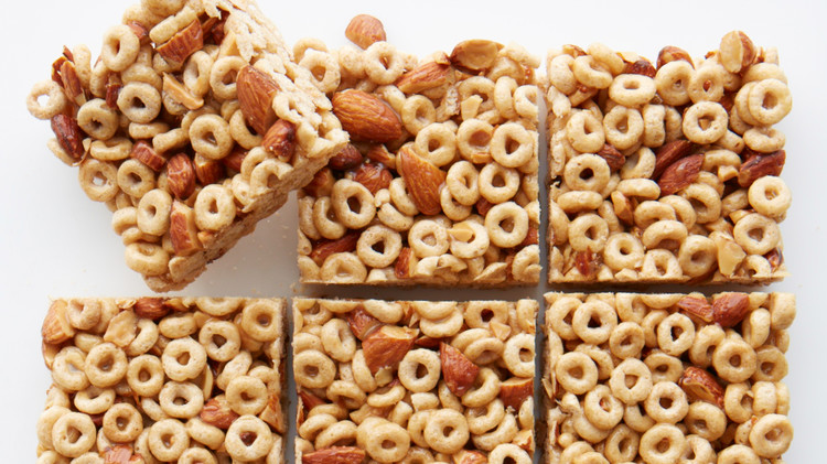 Honey nut cereal bar recipe video martha stewart cereal bar 028 ed109951g ccuart Image collections