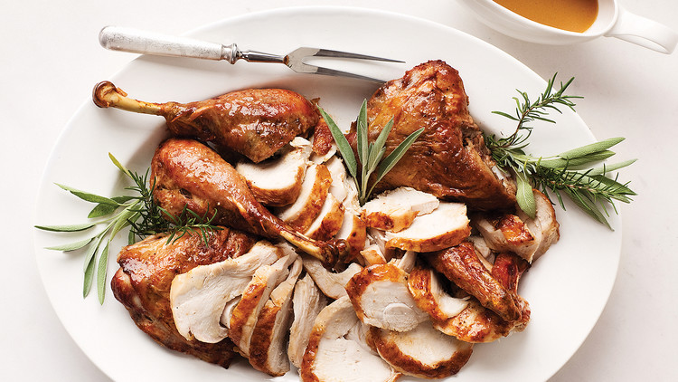 Roast Spatchcocked Turkey | Last Minute Thanksgiving Dinner Ideas Your Family Will Be Grateful For