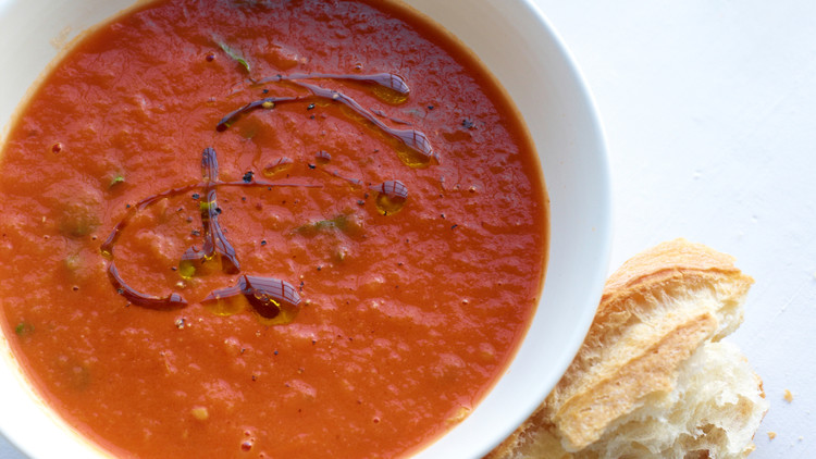 Roasted Tomato and Tarragon Soup