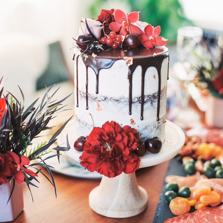 galentine's day cake