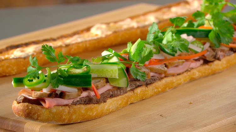 Banh mi sandwich recipe martha stewart for Good fish sandwich near me