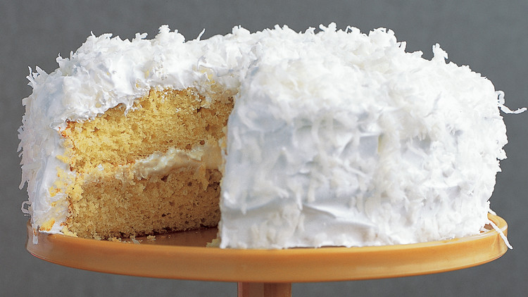 Cream Cheese Coconut Cake
