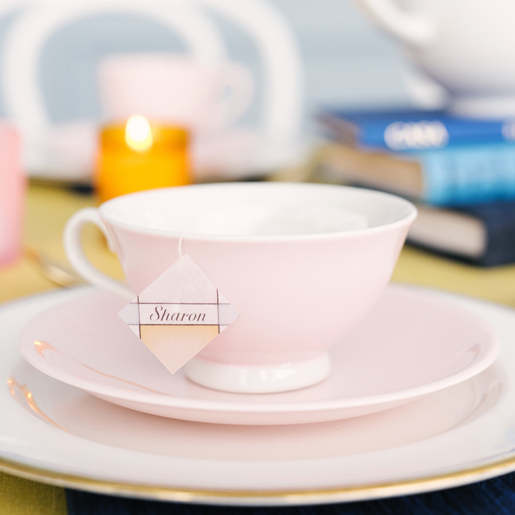 beauty and the beast baby shower teacup