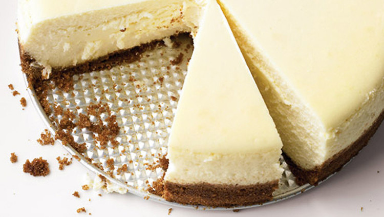 Cheese Cake With Club Cracker Crust