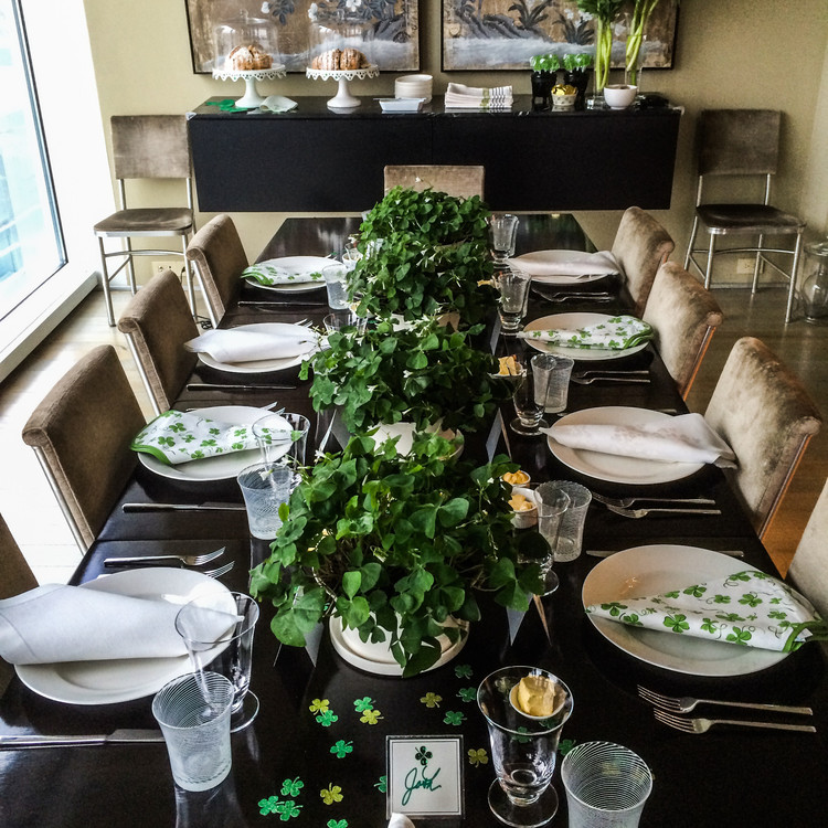 St Patrick S Day Breakfast She Brooke: St. Patrick's Day Decorations For A Sham-Rockin' Party