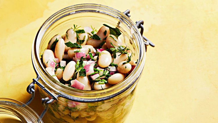 herbed bean salad