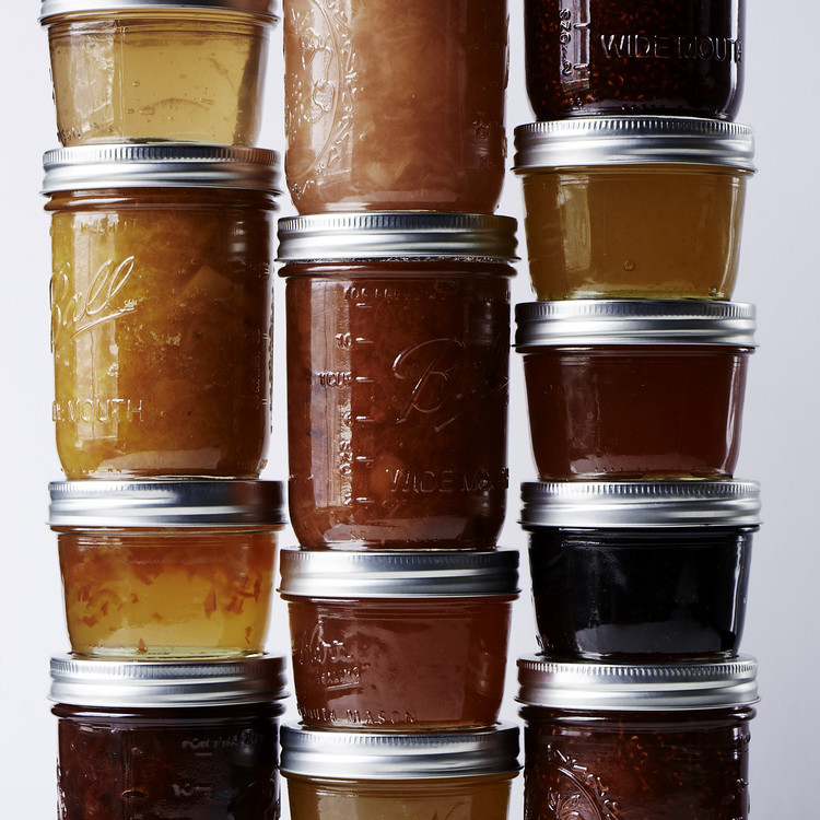 jars of jams
