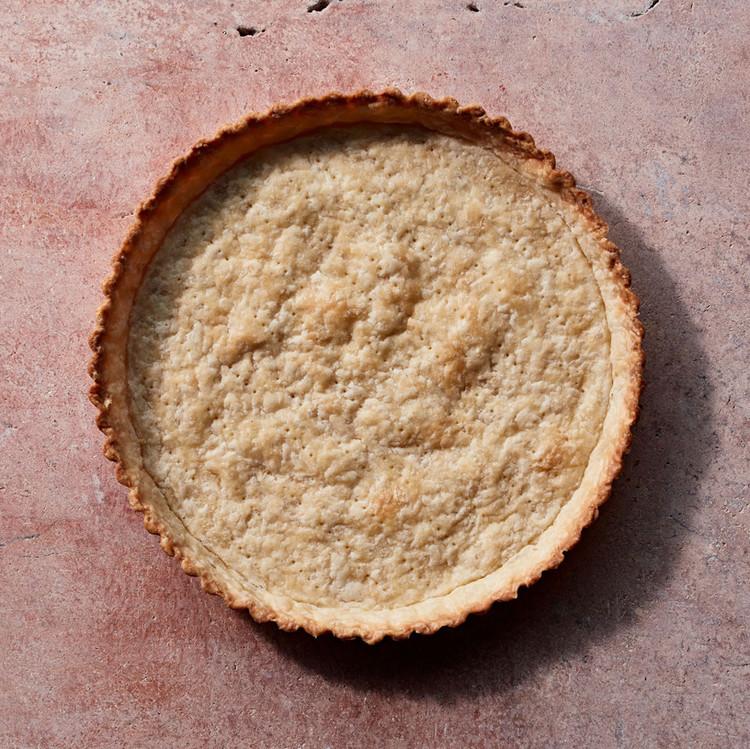 golden baked pie crust