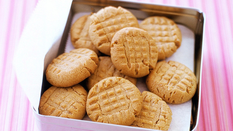 Easy Peanut Butter Cookies Recipe Amp Video Martha Stewart