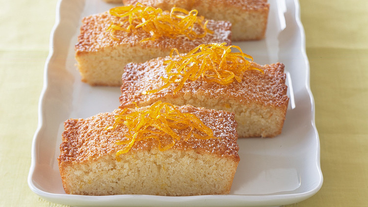 Attractive Almond Orange Financier