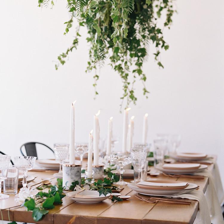 LA Summer Brunch Table