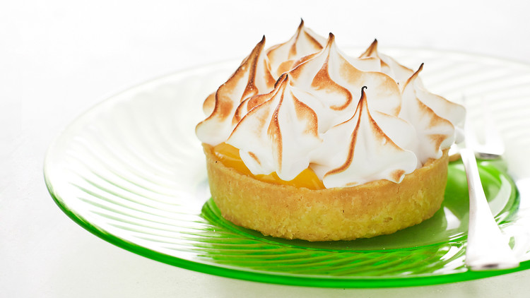 Lemon-Meringue Tartlets | Martha Stewart