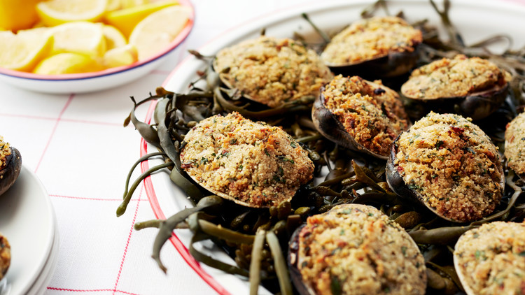 Marthas baked stuffed clams baked stuffed clams 070 d111289g sciox Gallery